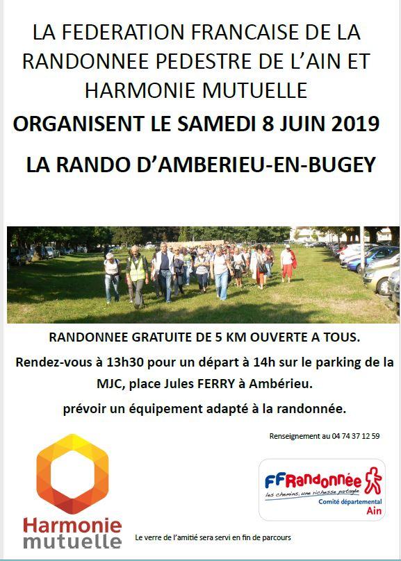 Calendrier Des Randonnees Pedestres Dans Lain 2020.Rando D Amberieu En Bugey 8 Juin Site Officiel Ffrandonnee Ain