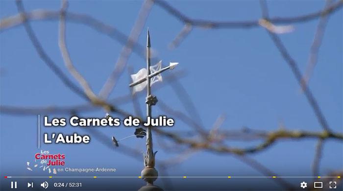 Carnet de Julie dans l'Aube