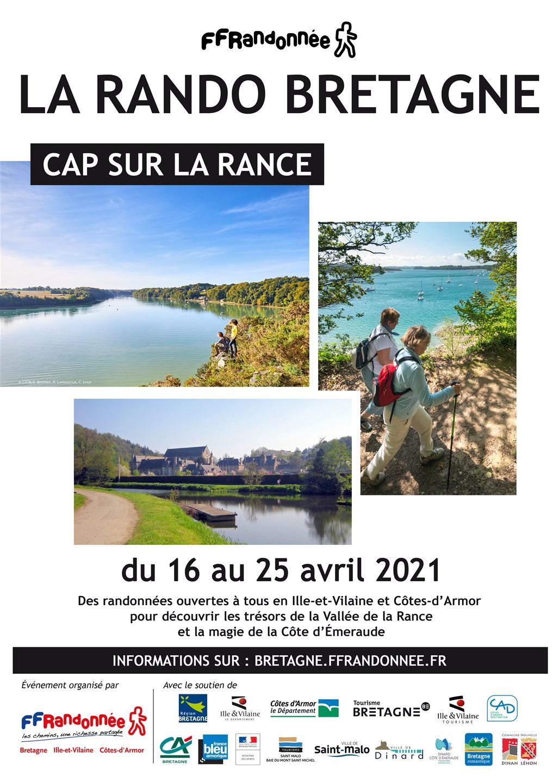FFRandonnée - Bretagne - La Rando Bretagne 2020