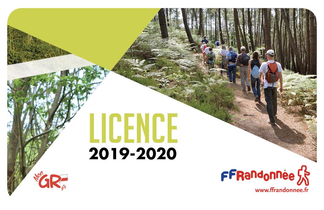 Carte de licence FFRandonnée
