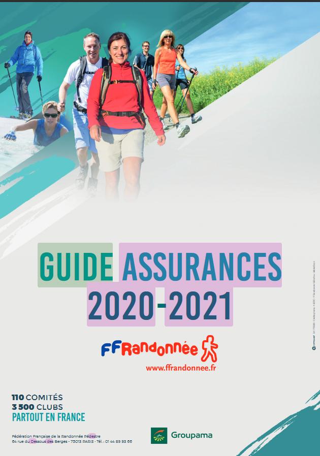 Randonnée Pédestre 44 Calendrier 2021 Guide des assurances   Comité Départemental de la Randonnée