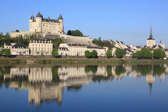 Château de Saumur et la Loire