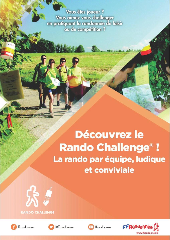 ffrandonnee rhone rando challenge flyer 2019
