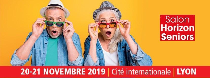 Affiche salon des seniors 2019 Lyon