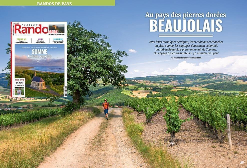 Passion Rando N57 double page Beaujolais
