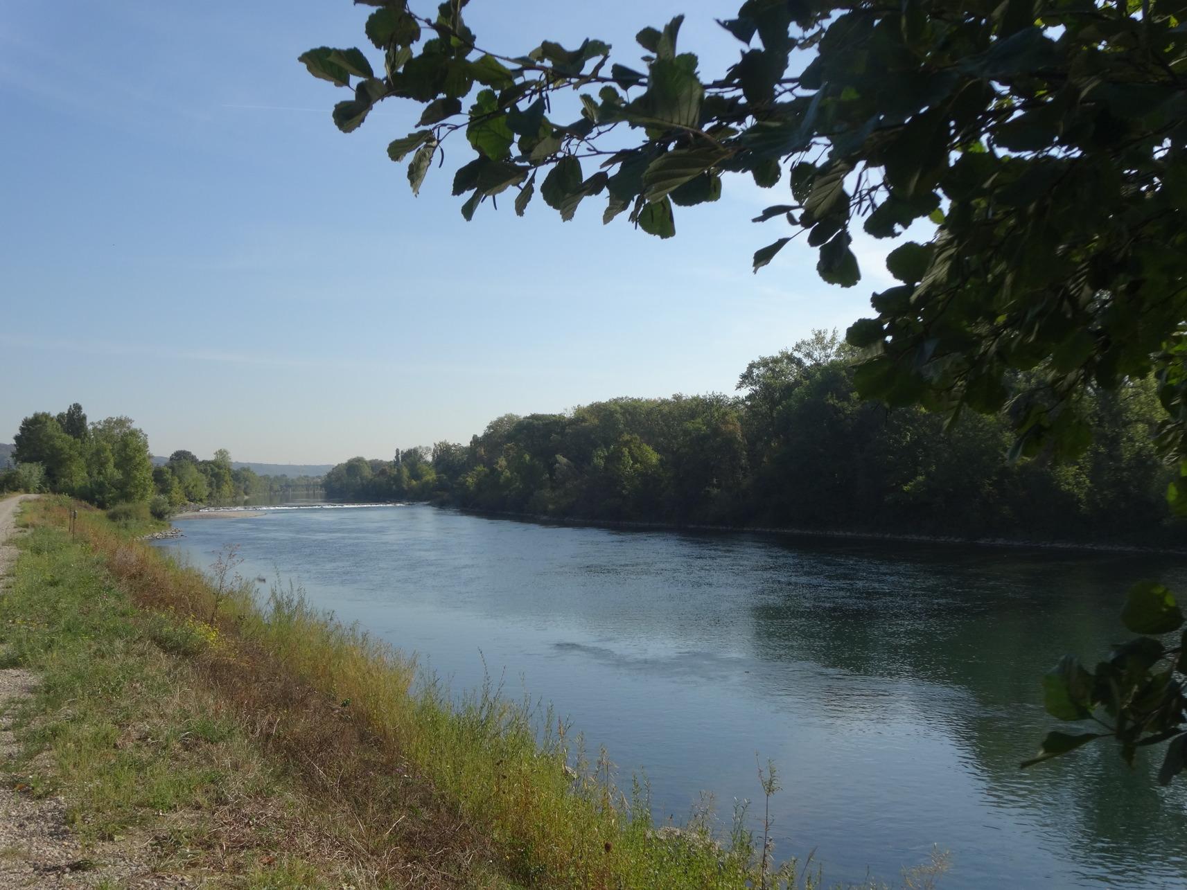 GR® 422 canal de Jonage