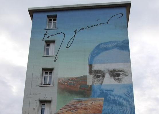 murs peints Tony Garnier