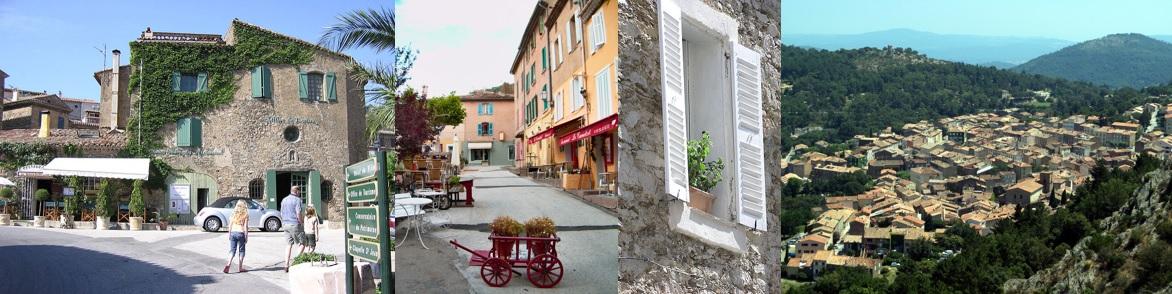 Le village médiéval de La Garde-Freinet dans le Golfe de Saint-Tropez