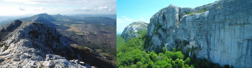 Paysages du Parc Naturel Régional de la Sainte-Baume