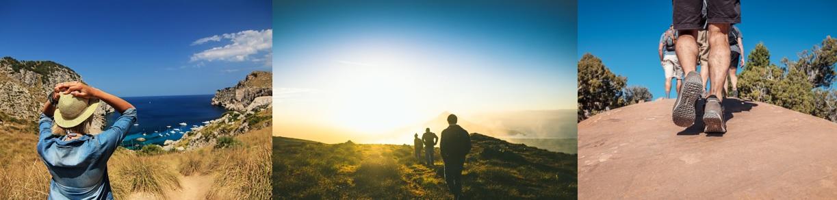 Randonnée pédestre en solitaire ou en groupe