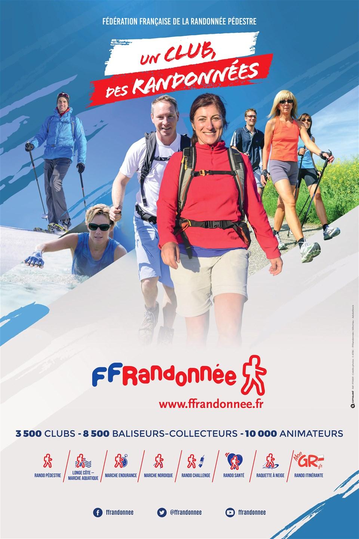 FFRandonnée - club - randonnée - adhésion