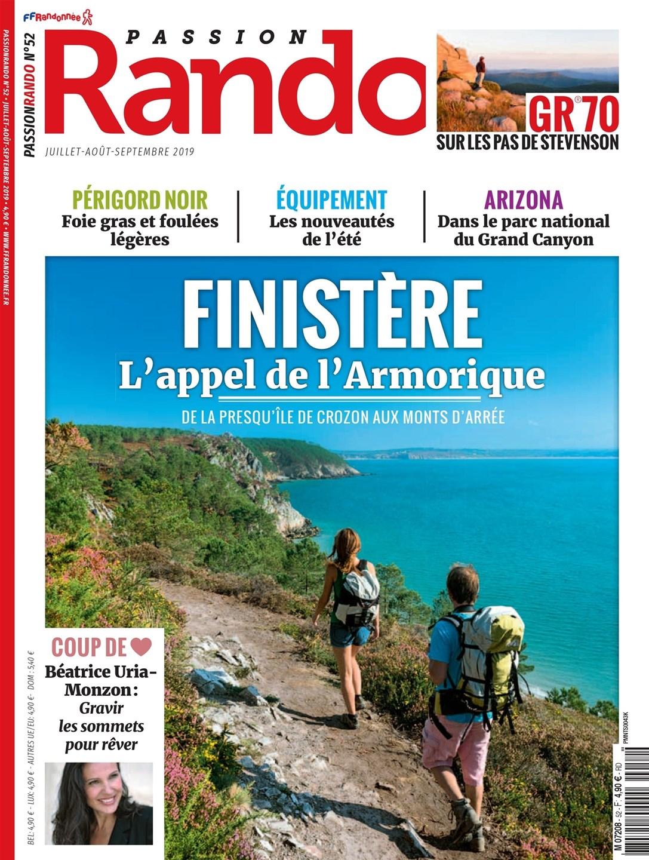 Passion Rando, le magazine de la randonnée grandeur nature