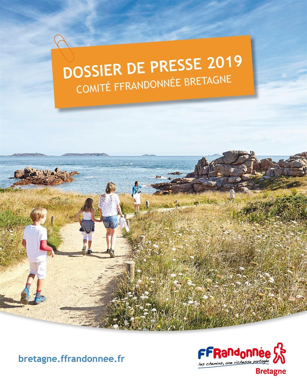 FFRandonnée Bretagne - publications - dossier de presse