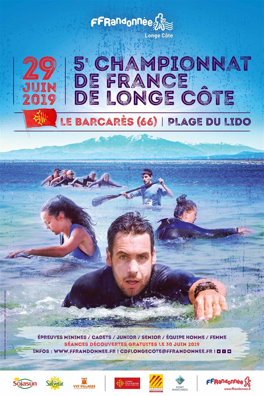 FFRandonnée - longe côte - championnat de france - marche aquatique