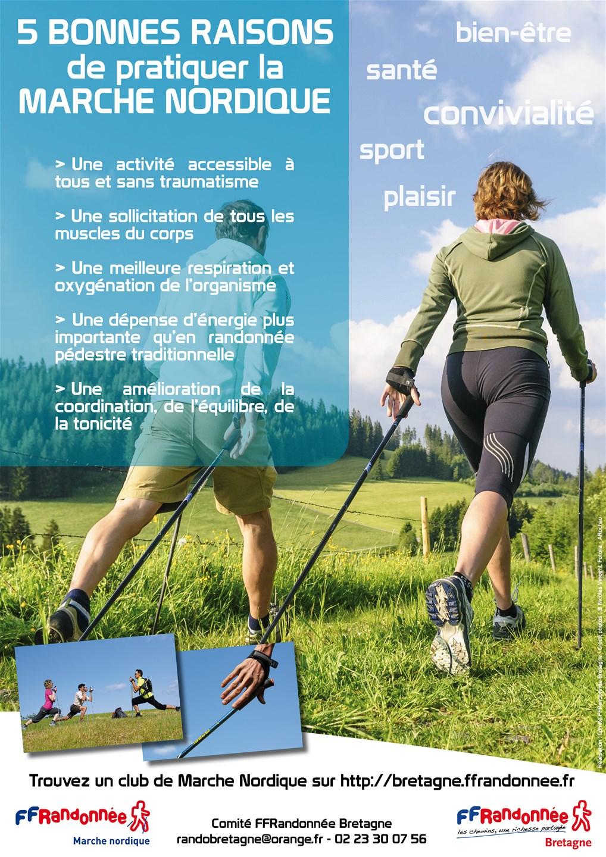 FFRandonnée - marche nordique - sport santé - randonnée