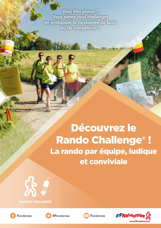 FFRandonnée - rando challenge - balises - randonnée