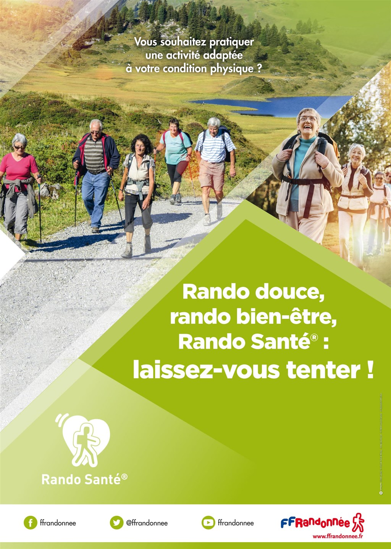 FFRandonnée - rando santé - sport santé - randonnée - bien être - association - club - rando douce