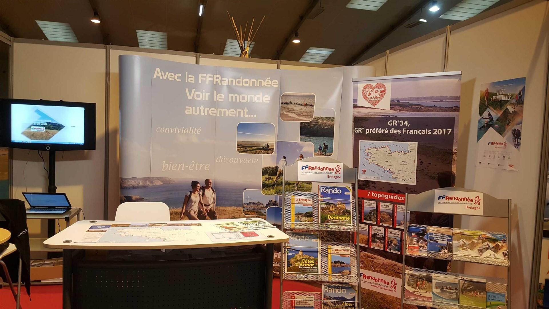 FFRandonnée - Bretagne - Salon - Tourisme - Rennes