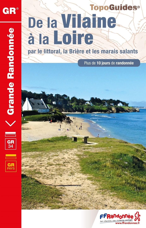 Topoguide - FFRandonnée - GR34 - Loire Atlantique - Randonnée