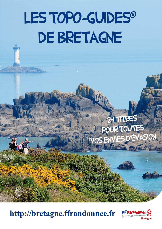 FFRandonnée Bretagne - publications - topo-guides