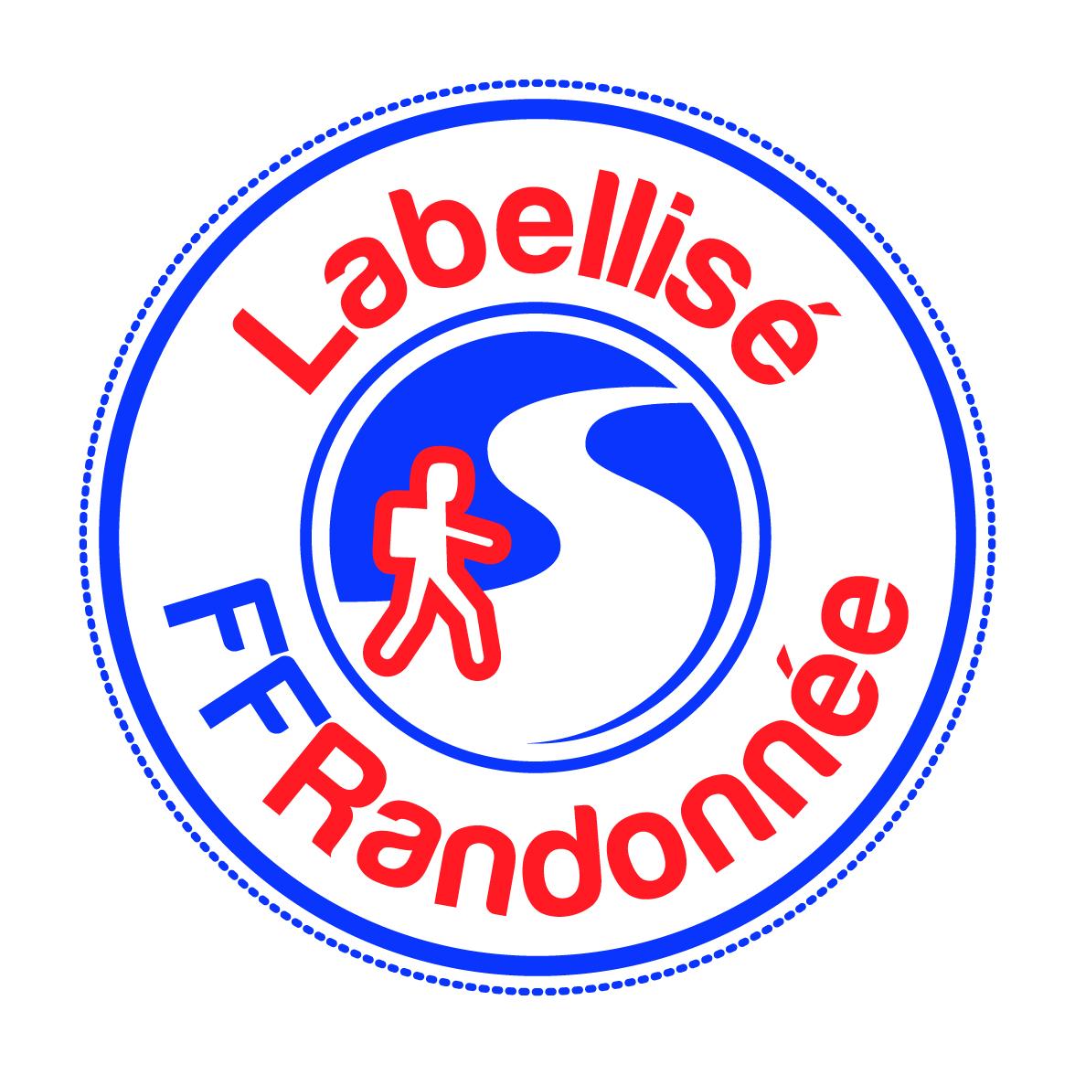 Logo itinéraire labellisé FFRandonnée