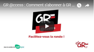 Vidéo : comment s'abonner à GR @ccess