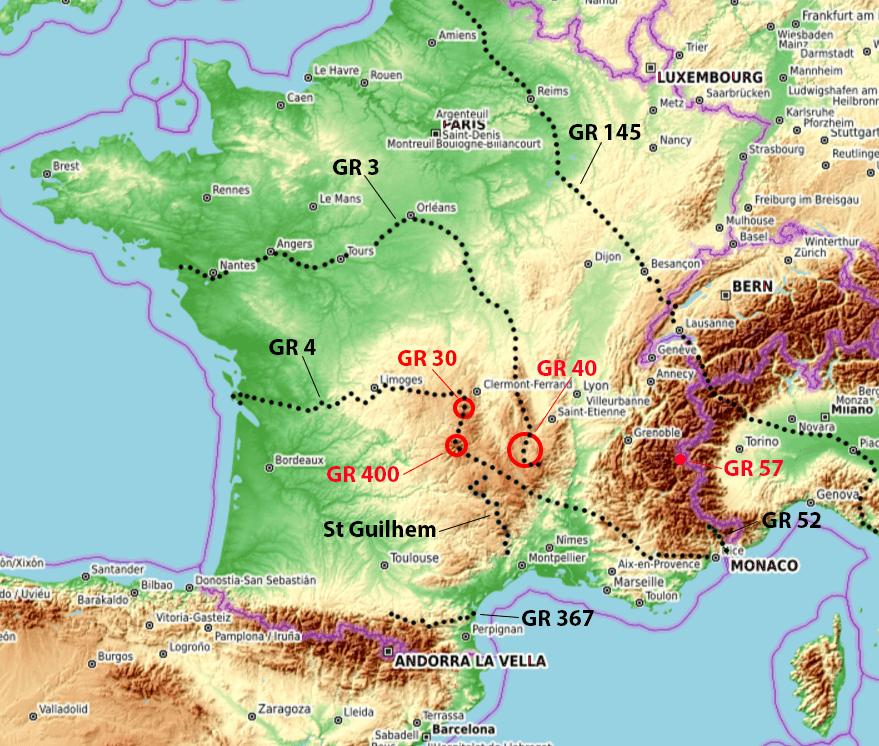 Dix GR® Chemins de Grande Randonnée en France qui valent le détour