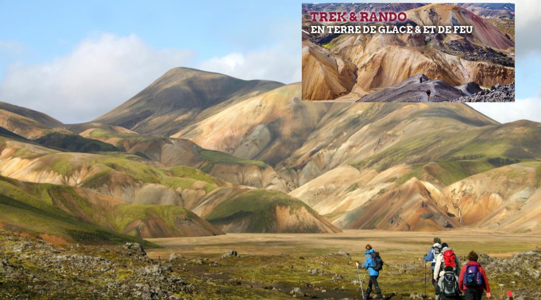 ISLANDE : Une randonnée spécialement pensée FFRandonnée !