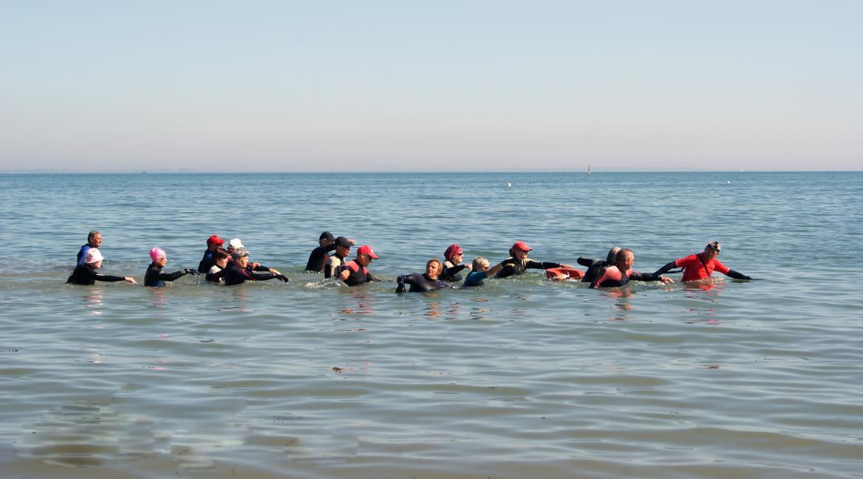 MARCHE AQUATIQUE : Le Var accueille le premier séjour de marche aquatique ou longe côte®