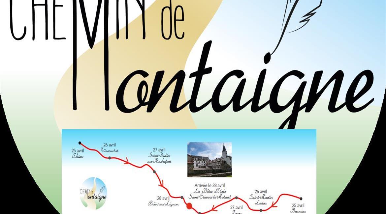 RHÔNE / PUY-DE-DÔME / LOIRE : Randonnée inaugurale du GR® 89 - Chemin de Montaigne