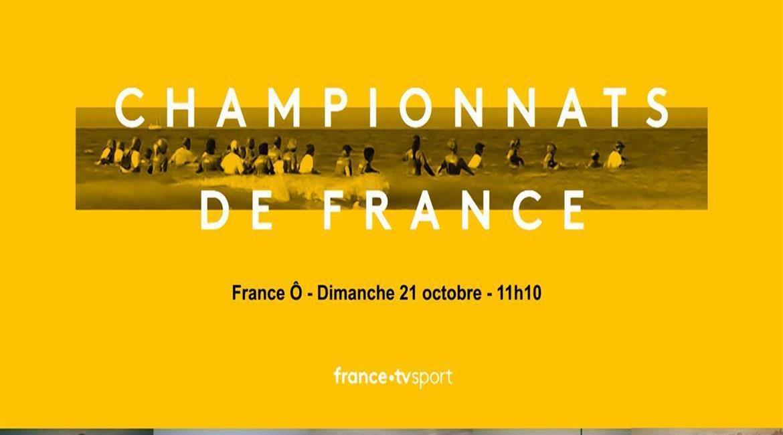 Les 4e Championnats de France de Longe Côte sur France Ô - Dimanche 21 octobre 2018 à 11h10