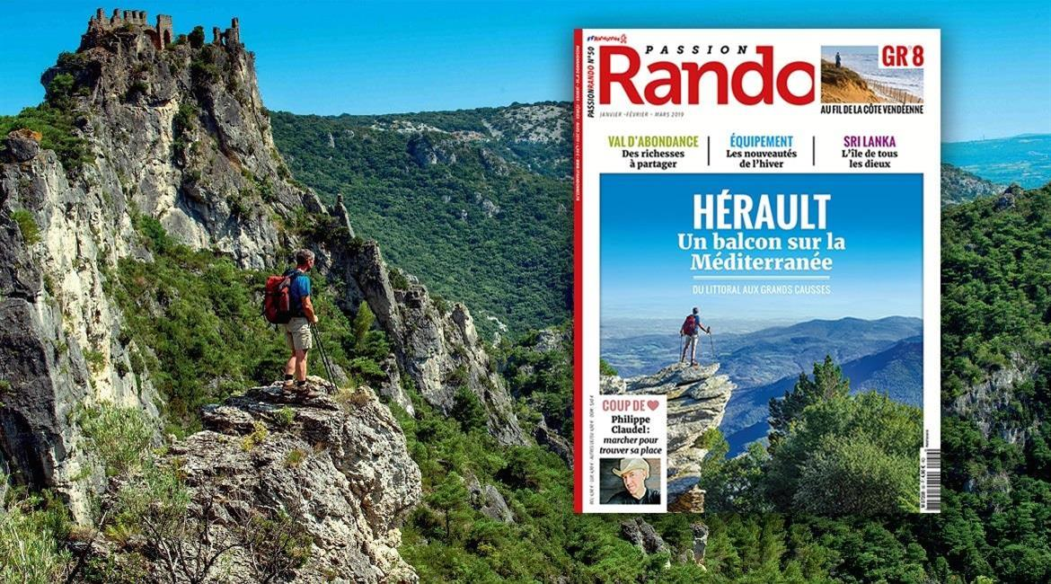 MEDIA : L'Hérault, destination hivernale de Passion Rando