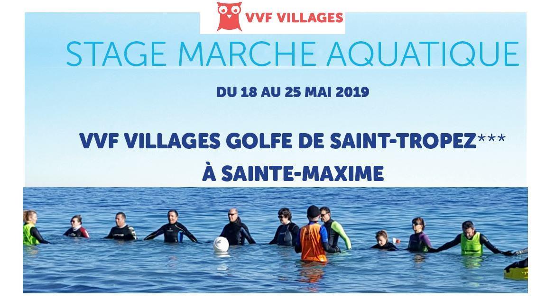 MARCHE AQUATIQUE : Le Var accueille un stage de marche aquatique - longe côte®