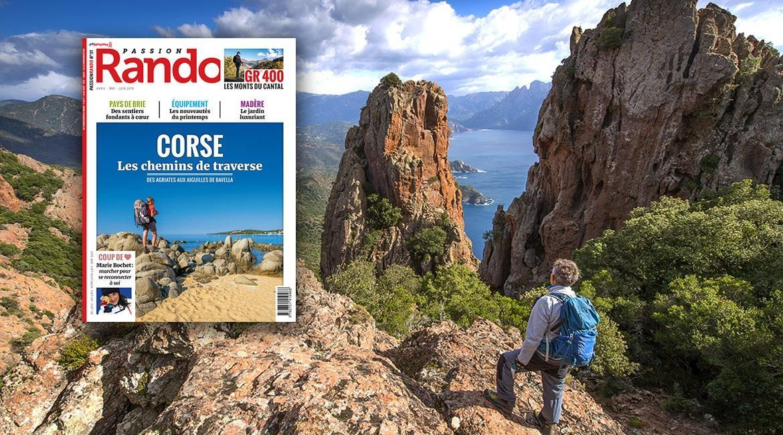 La Corse, destination printanière du magazine Passion Rando