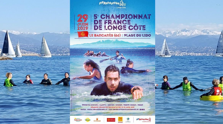 5ème Championnat de France Longe Côte au Barcarès