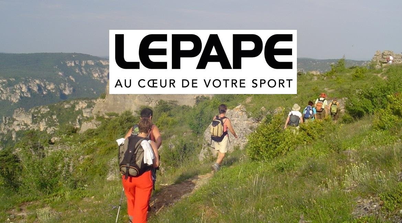 Lepape devient « Fournisseur officiel » de la FFRandonnée
