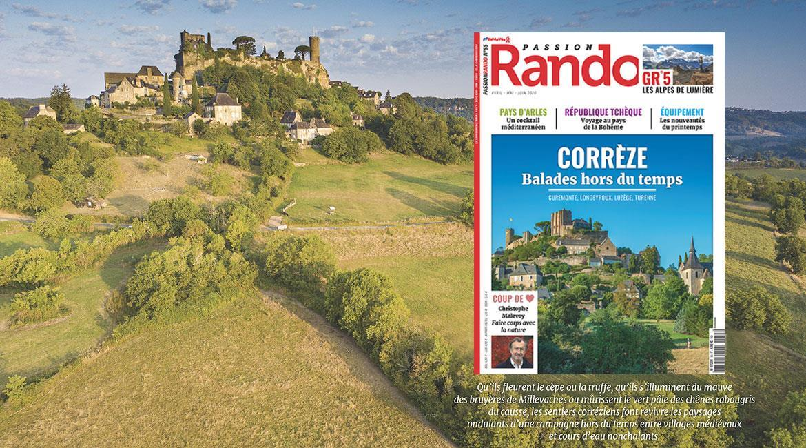 La Corrèze, destination printemps de Passion Rando