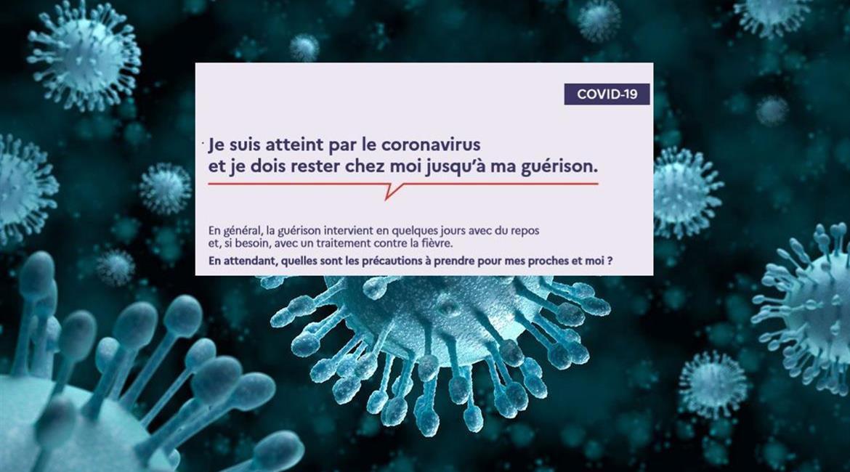 Que faire en cas de contamination par le COVID 19 ?