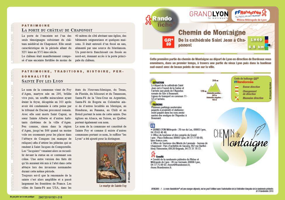 Les sentiers du patrimoine avec la FFRandonnée Val-d'Oise et le Parc du Vexin