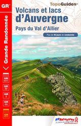 Topoguide GR Volcans et lacs d'Auvergne FFrandonnée