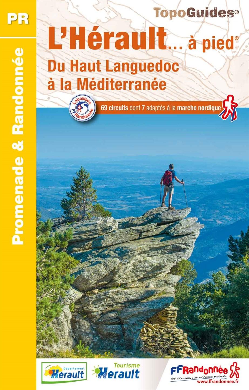 Topoguide FFRandonnée L'Hérault à pied