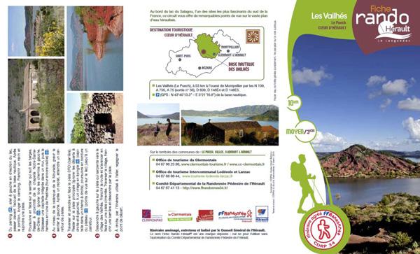 Randofiche® de l'Hérault