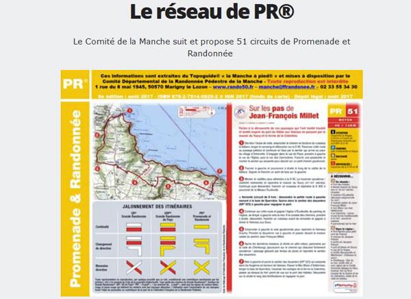 Randofiche® de la FFRandonnée Loire