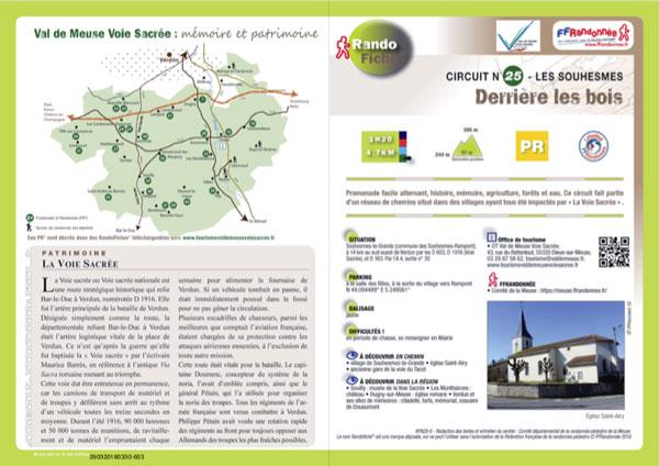 Randofiche® de la FFRandonnée Val-d'Oise
