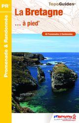 Topoguide PR La Bretagne à pied FFrandonnée