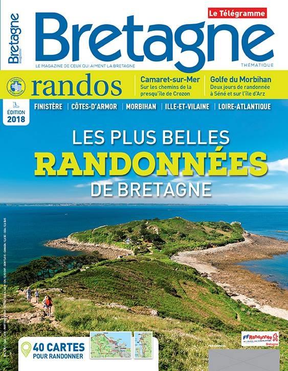 Carte Bretagne Randonnee.Media Bretagne Magazine Randos 2018 Est En Kiosque Site