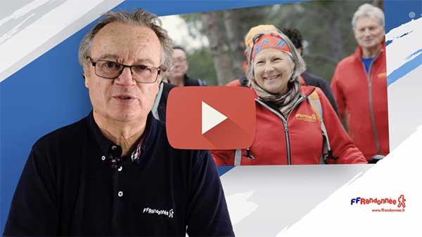 Vidéo Didier Babin Président FFRandonnée