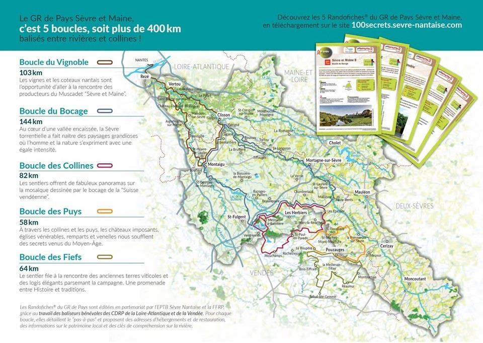 Découvrir le GR® de Pays Sèvre et Maine en Loire Atlantique