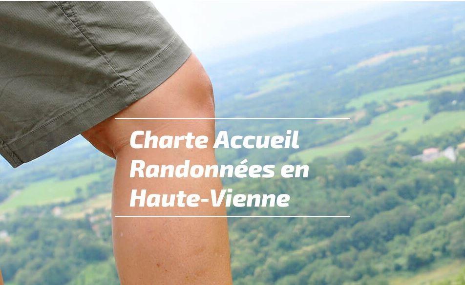 Charte Accueil Randonnées en Haute-Vienne