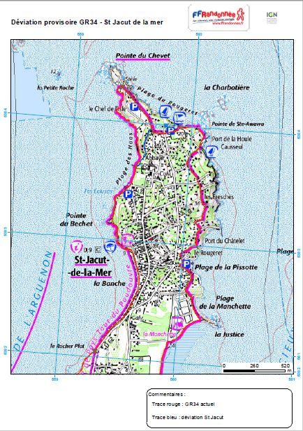 Carte Saint-Jacut-de-la-Mer
